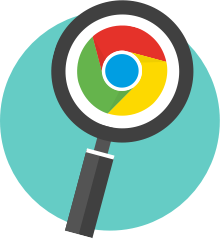 Clear chrome history icon