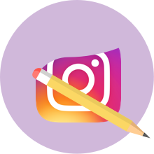 Delete instagram account icon